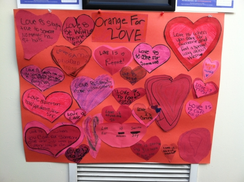 Teen Dating Violence Display