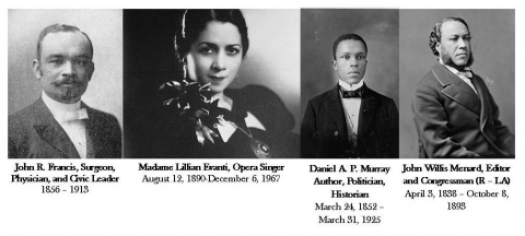 Who's Who at Woodlawn Memorial Cemetery