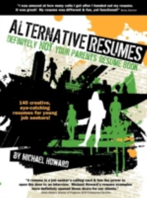 Alternative Resumes cover