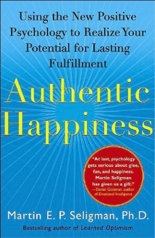 Authentic Happiness book cover