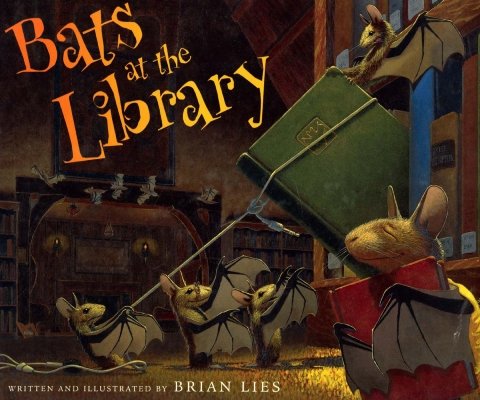Bats at the Library - book cover