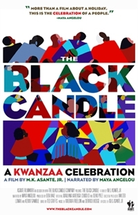 black candle poster