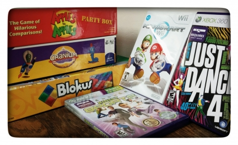 Board games and video games