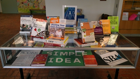 picture of book display