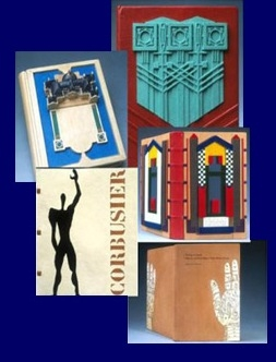 Examples of Stanley M. Sherman's bookbinding