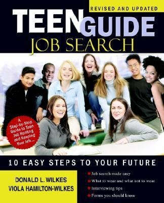 Teen Guide Job Search Book Cover