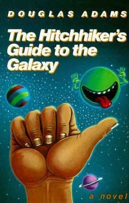 Original Hitchhiker's Guide cover