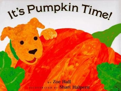 It's Pumpkin Time book cover