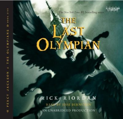 """Cover art of """"The Last Olympian"""""""