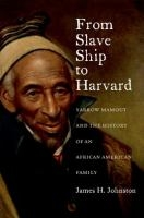 Book cover for From Slave Ship to Harvard