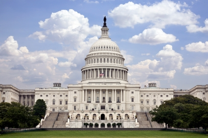Image of the United States Capitol Building - which you can tour for free