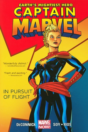 Cover of Captain Marvel