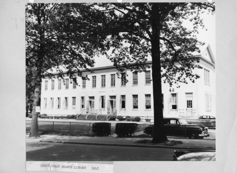 Chevy Chase Library, 1947