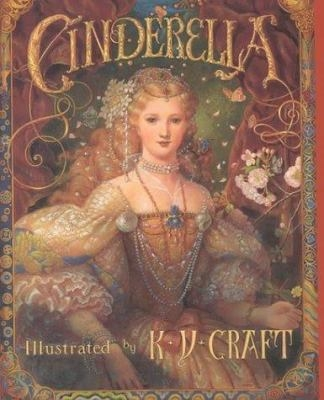 "Image of book cover for one version of ""Cinderella"""