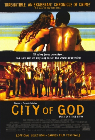 Poster for the film City of God