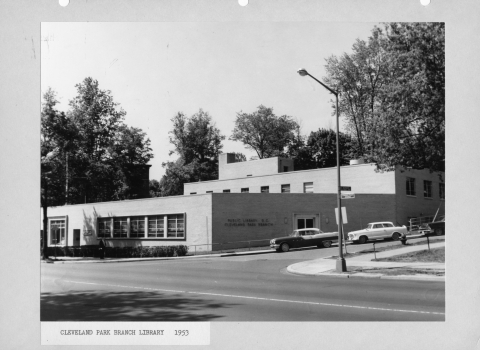 Cleveland Park Library, 1953