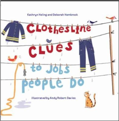 Cover of Clothesline Clues to Jobs People Do