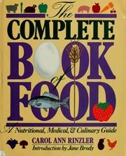 Complete Book of Food