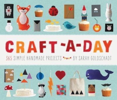 Craft-a-day book cover