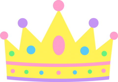 Clip art image of a crown