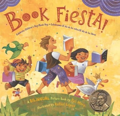 Book cover for Book Fiesta! by Pat Mora
