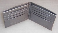 Photo of a duct tape wallet