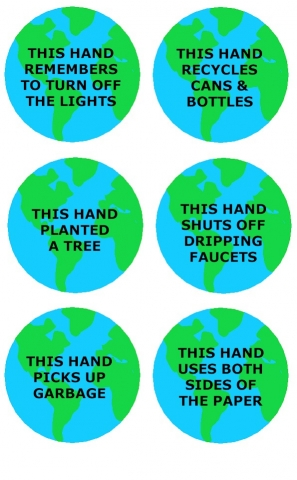 earth day pledges