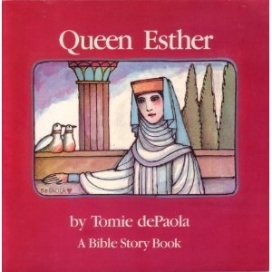 Book cover for Queen Esther by Tomie DePaola