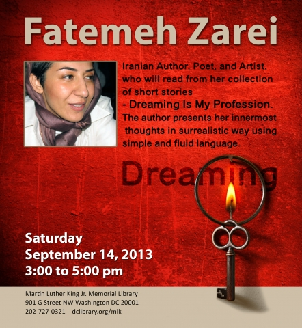 Fatemah Zarei - Author Talk