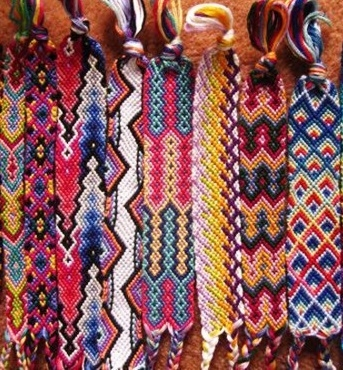Photo of friendship bracelets