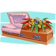 Picture of casket