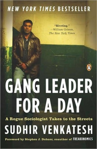 "Cover of ""Gang Leader for a Day"""