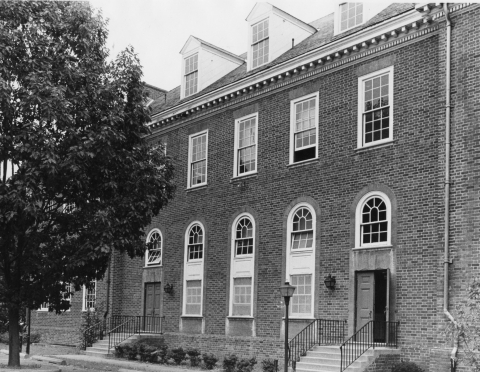 Georgetown Library, 1971
