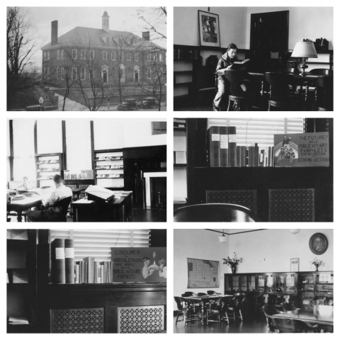 Georgetown Library photos from 1935