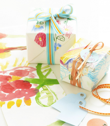 Make your own gift wrap!
