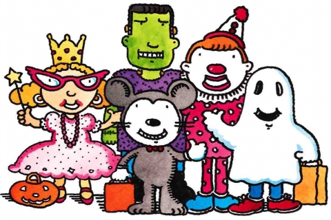Image result for halloween  at library