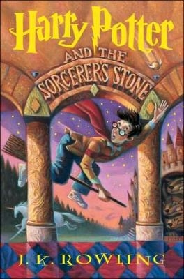 Picture of the cover of Harry Potter and the Sorcerer's Stone
