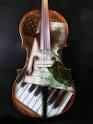 photo of cello/keyboard