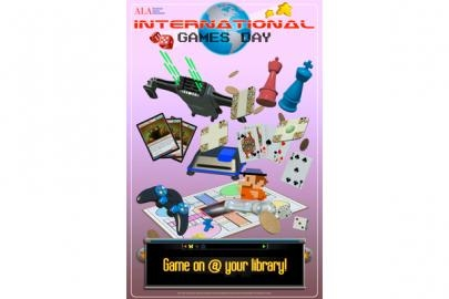 International Games Day poster