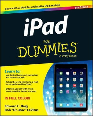 iPad for Dummies cover