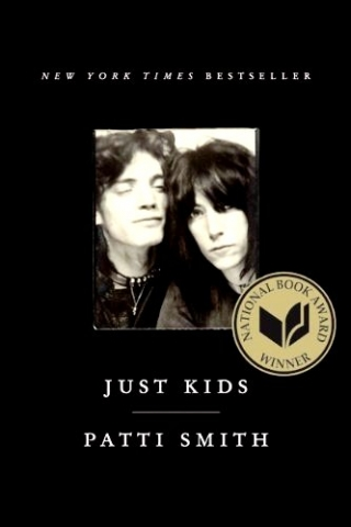 "Book jacket of ""Just Kids"""