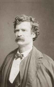 Photo of Mark Twain COPYRIGHT 2012 Gale, Cengage Learning