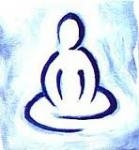 Image of human figure in meditation