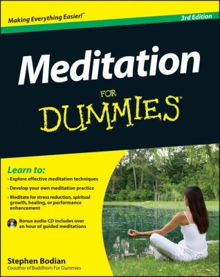 Meditation for Dummies cover