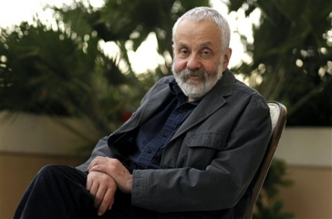 Photograph of Mike Leigh from the AP Image file