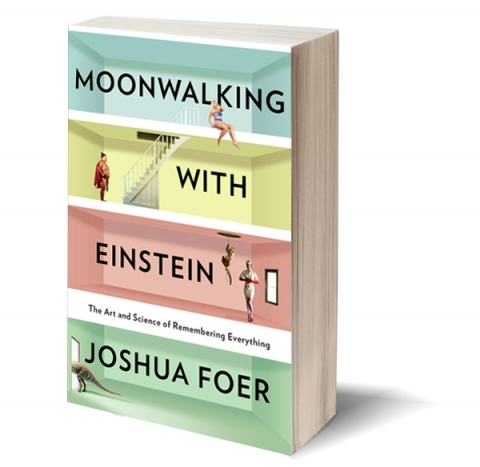 "Image of book cover for ""Walking with Einstein"" by Joshua Foer"