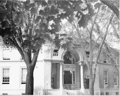 Mt. Pleasant Library, 1925