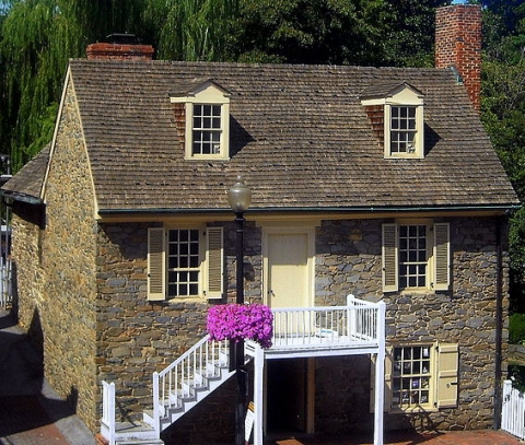 Photograph of the Old Stone House