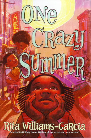 cover of one crazy summer