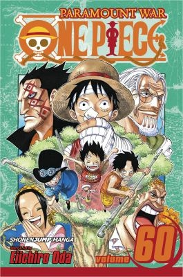 """Book cover for """"One Piece"""" volume 60 by Eiirchiro Oda"""